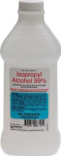 Isopropyl Alcohol 99% (1 Pint Bottle)