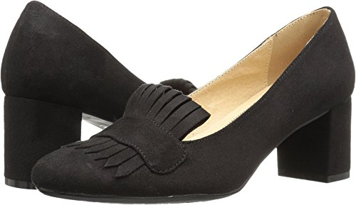 CL by Chinese Laundry Women's Anete Dress Loafer Pump, Black Super Suede, 7 M US