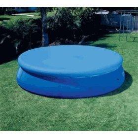 Intex 15 Inch Easy Set Above Ground Swimming Pool Debris Vinyl Round Cover Tarp