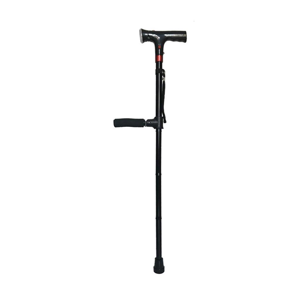 WENJUN 折りたたみ杖 - 男性&女性のための歩行ケーン - 折り畳み式軽量調節可能なポータブルウォーキングスティック可動性老人用松葉杖ノンスリップテレスコピック (色 : B) B07F24LJTC  B