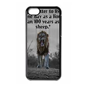 Lion CUSTOM Hard Case for ipod touch4 LMc-83342 at LaiMc
