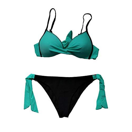 Women Beach House Swimwear Tankini,PASHY Women Cross Strap Swimwear Bikini Bathingsuit Swimsuit Bandage Tankini Beach