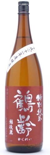 青木酒造 鶴齢 特別純米 無濾過生原酒 越淡麗55%精米 1800ml