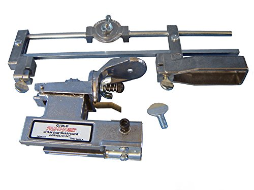 Granberg Bar-Mount Chain Saw Sharpener, Model# G-106B Sharpen Chainsaw Chain