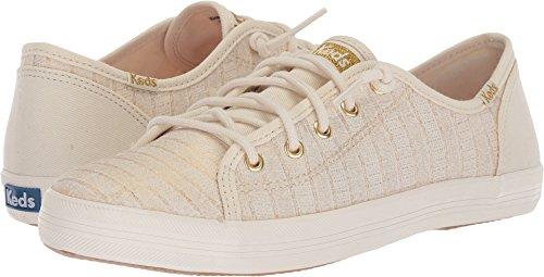 Keds Girls' Kickstart Seasonal Sneaker, White, 12.5 Medium US Little Kid