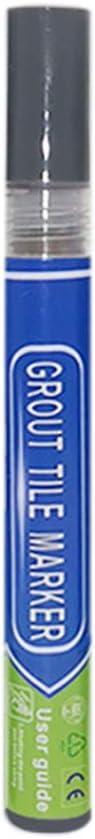 Tama/ño libre beige para lechada blanqueador de lechada para restaurar juntas descoloridas y decoloradas Rotulador de lechada blanco para restaurar juntas de lechada f/ácil de usar