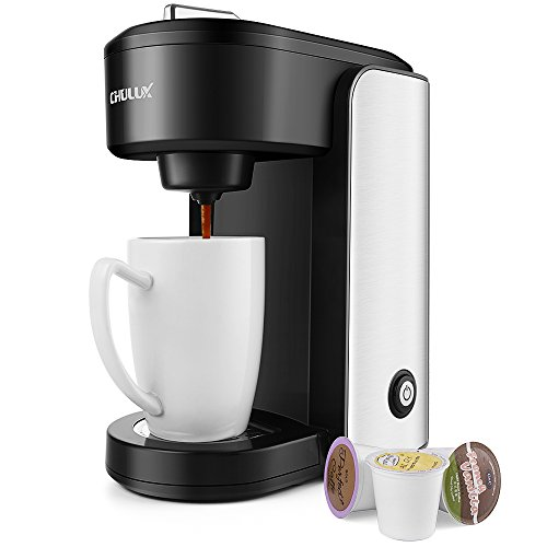 Chulux Single Serve Coffee Makerstainless Steel Coffee Brewer With