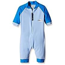 Stingray Australia Baby UV Sun Protection Romper Bathing Suit-Blue size 0