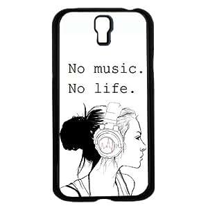 No Music. No Life. Hard Snap on Phone Case (Galaxy s4 IV)