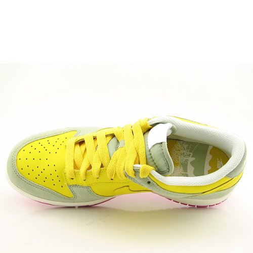 Nike Dames Dunk Laag Cl Geel / Grijs Roze Us 8.5 M