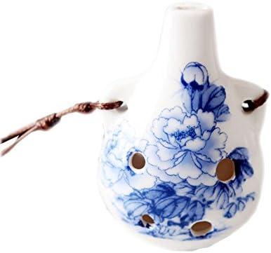 オカリナ6ホール、中国陶器手作りオカリナ教育玩具