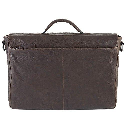 strellson Coleman Briefbag L Dark Brown
