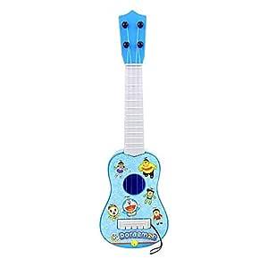 musical toy Mini 4 Strings  Ukulele Simulation Guitar Kids Musical Instruments Toy Music Kids Doraemon