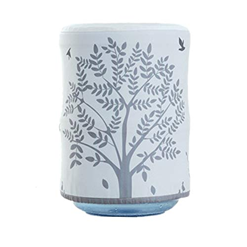 Yihoo Water Dispenser Durable Dust Proof Fabric Bucket Covers, Furniture Cover Protector 13x11 inches (Gray Big Tree)