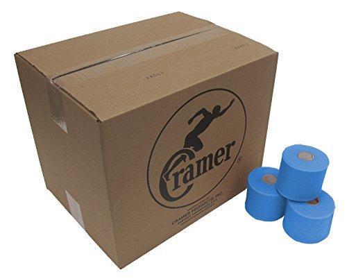 Cramer Tape Underwrap, Bulk Case of 48 Rolls of PreWrap for Athletic Taping, Hair Tie, Headband, Patellar Support, Pre-Wrap Athletic Tape Supplies, 2.75