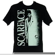 Scarface Airbrush Poster Logo Men's T-Shirt