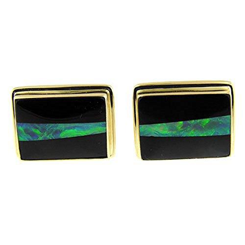 Gold Opal Cufflinks - 9