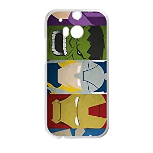 Happy The Avengers Cell Phone Case for HTC One M8