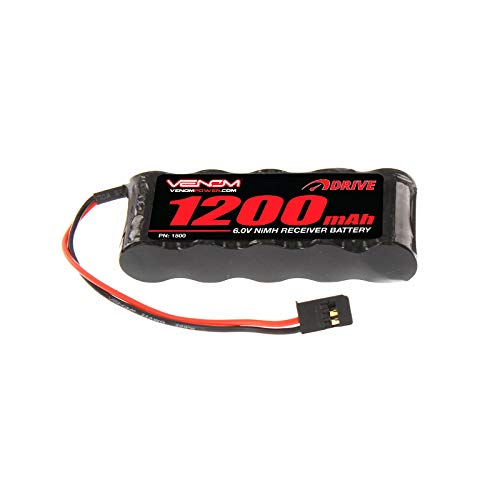 (Venom Group International 1500 6V 1200 mAh NiMH Flat RX Battery)