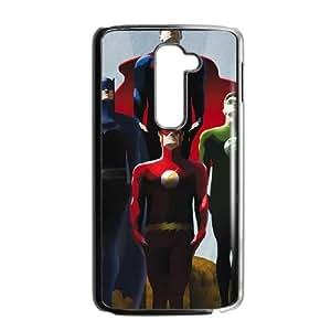 LG G2 Cell Phone Case Black The Justice League E2S3JR
