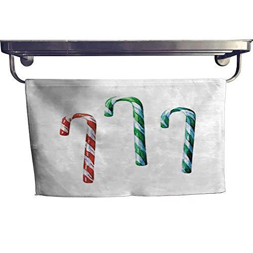 - warmfamily Dry Fast Towel Caramel Sticks Watercolor Illustration Towel W 10