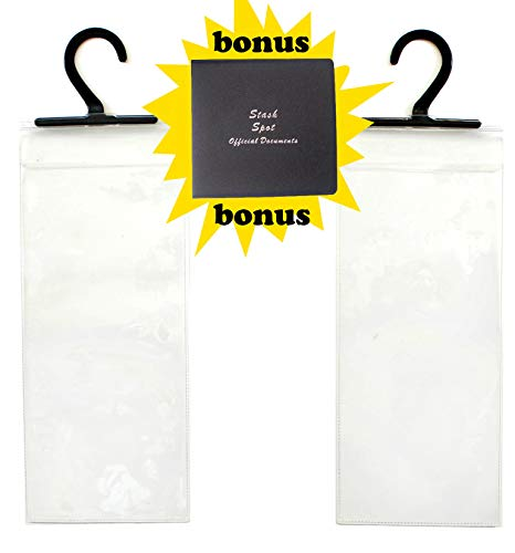 2 Handicap Placard Holders with Bonus Registration/Original Document Holder