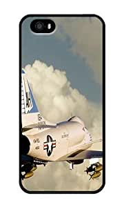 Douglas A 4 Skyhawk - Personalized Crystal Clear Enamel Hard Back Shell Case Cover Skin for iPhone 4/4S