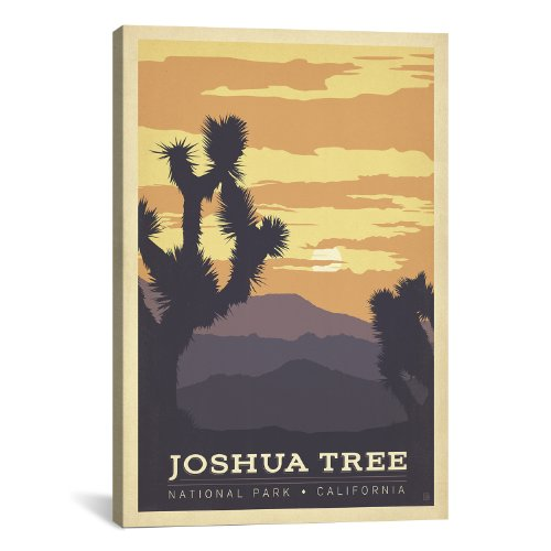 iCanvasART Joshua Tree National Park California by Anderson Design Group Canvas Art Print, 26 by 18-Inch