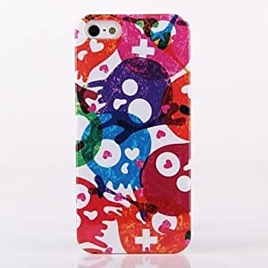 iPhone 5S Case, WKell Sea Genius Pattern ABS Back Case for iPhone 5/5S