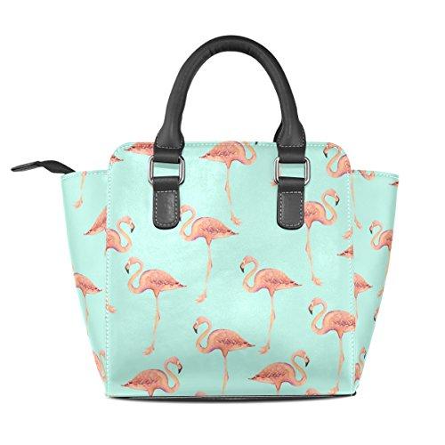 Deyya Multicolor Mujer Monedero Los Un De Bolso Niñas Wo Totalizador Pu Tamaño Lesionada Cuero Del Delfines Hombro rraqwU