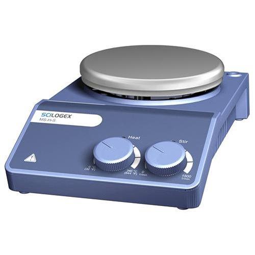 Scilogex 81112102 MS-H-S Analog Magnetic Hotplate Stirrer, Porcelain Plate, 110V/60Hz, 5-2/7'' Diameter