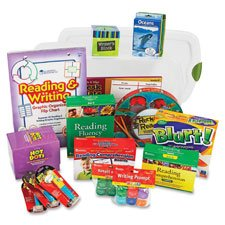 Common Core Language Arts Kit, w/Storage Bin, Gr 4, 13 Pcs, Sold as 1 Each by Learning Resources