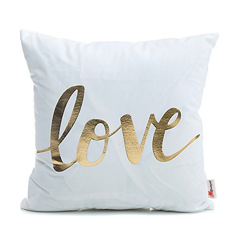Love Throw Pillow - Monkeysell Valentine's Day gift Home Pillowcases Throw Pillow Cover lips Love puzzles olive pineapple pattern design 18 inches (18 18 inches without the inside, S148B2)