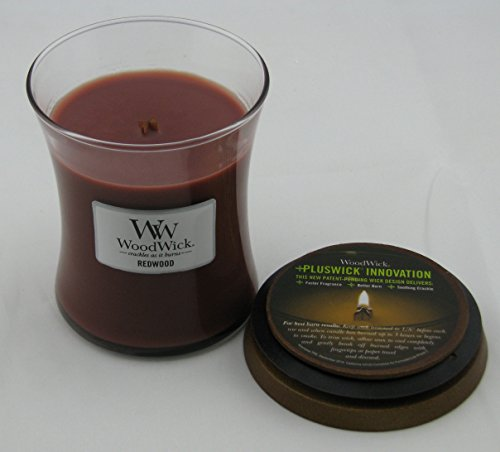 Woodwick 6359592138 10 Oz Redwood Scented Candle
