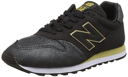 Mujer para de Negro New Wl373ng Zapatillas Running 001 Black Balance 373 wxAOqqgU