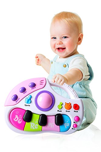 (Musical Toys Kids Keyboard Piano, Baby Electronic Multifunctional Music Instruments with)