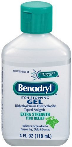 Benadryl Extra Strength Itch Stopping Gel, 4 Ounce