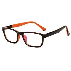 Fantia children With myopia Frames Kids eyeglass hinge Design Eyewear (D)