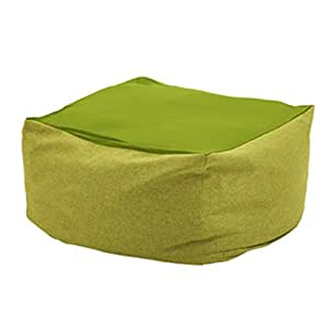 Amazon.com: Sofá tumbona puf extraíble, lavable, individual ...