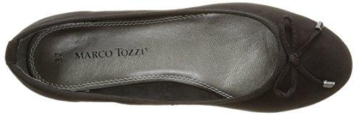 Marco Tozzi 22135, Women's Ballet Flats, Black (Black 001), 5 UK (38 EU)