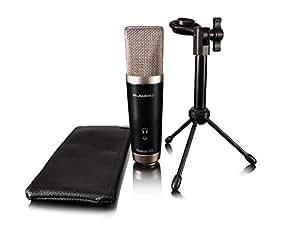 M-Audio Vocal Studio - Paquete completo de grabación con interfaz de audio (micrófono LDC, auriculares e Ignite Music Creation Software)