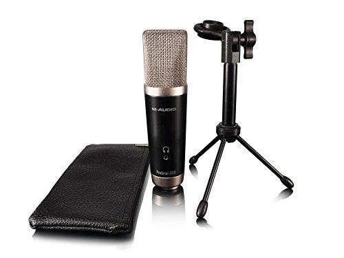 M-Audio Vocal Studio Digital Recording Bundle and USB Condenser Microphone