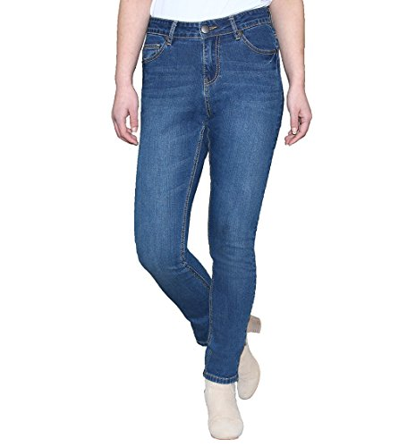 LotFancy Washed Stretch Skinny Jeans