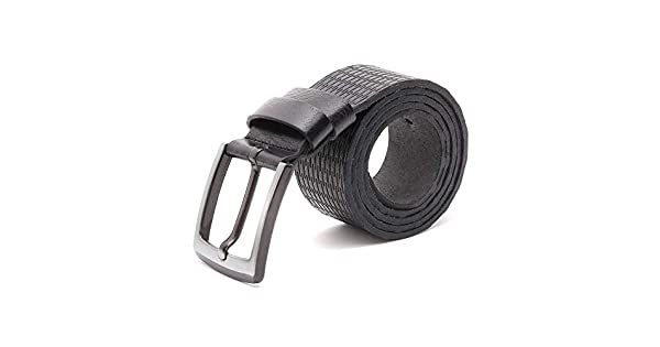 VITACCI Mens Genuine Leather Dress Belt 1.35 Wide Double Side Buckle