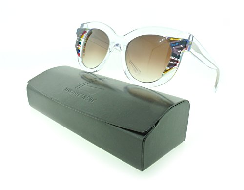 Thierry Lasry Slutty Cat-eye Sunglasses Composite Frames (Clear & Multicolor, Brown - Lasry Thierry