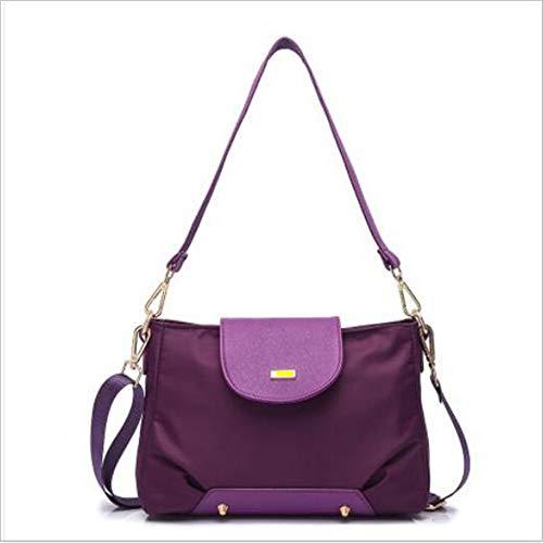 Femmes Main à LANGUANGLIN l'eau Sauvage Sac à Purple Atmosphère Imperméable Sac Purple épaule Simple Bandoulière dgq0YgA
