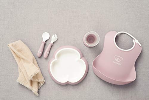 BABYBJORN Baby Dinner Set, Powder Pink by BabyBjörn (Image #4)