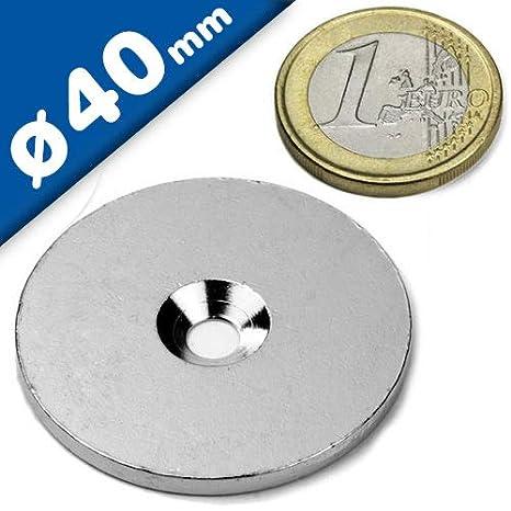 Arandelas planas en acero inoxidable Ø 40mm x 3mm, Cantidad ...