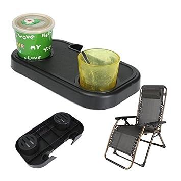 Amazon.com: SUJING Bandeja de mesa lateral para salón, patio ...