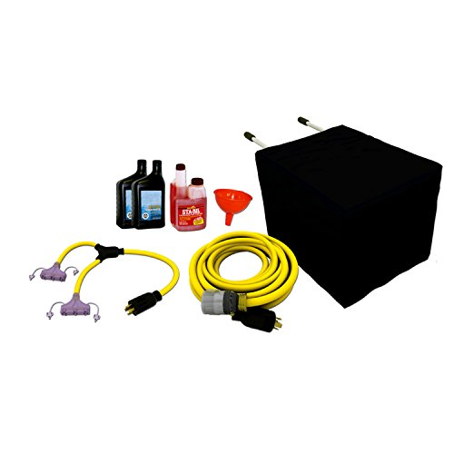 891523000185 - DEK Universal Generator Accessory Kit (cords, adapters, oil, cover, stablizer) carousel main 0